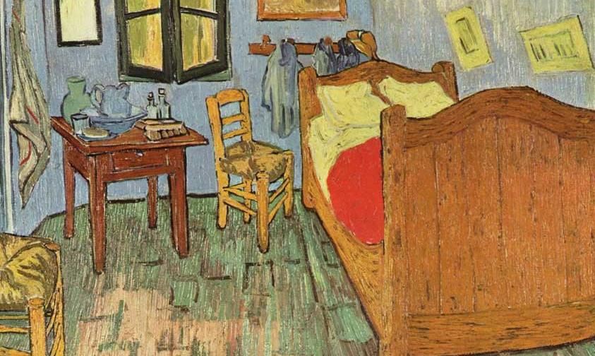 Free press - Van gogh la camera da letto ...